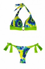 Fantasy - Print Triangel Push up Bikini