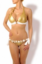 Luxury – Gold Push up Triangel Bikini