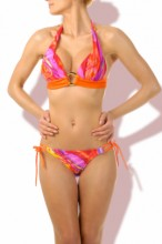 Happy Holiday Push up Triangel Bikini