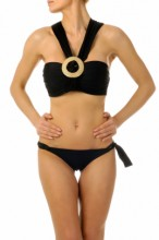 Glamour Push up Bandeau Bikini