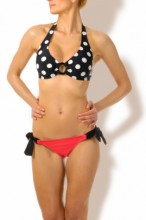 Happy Holiday - Neckholder Punkte Bikini