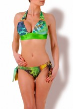 Fabulous - Triangel Push up Bikini Print