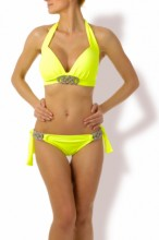 Luxury - Neon Push up Triangel Bikini