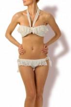 Sweet & sexy - Volants Bandeau Bikini
