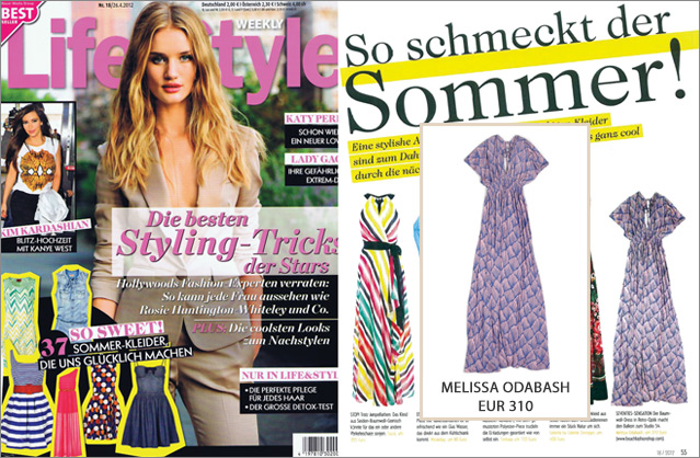 As seen in Life & Style – Maxi dress by Melissa Odabash